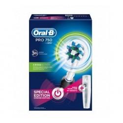 Oral B 750 Pro Cross Action Spazzolino Elettrico