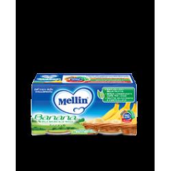 Mellin Omogenizzato alla Frutta Banana 2 vasetti da 100g