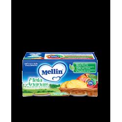 Mellin Omogenizzato alla Frutta Mela e Ananas 2 vasetti da 100g
