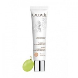 Caudalie Vinoperfect Crema viso colorata con SPF20 nuance LIGHT 01 - 40 ml