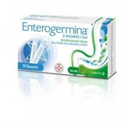 Enterogermina 2 Miliardi di Fermenti Lattici 20 Flaconcini da 5ml