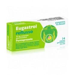 Eugastrol Reflusso 20mg Pantoprazolo 14 Compresse Gastroresistenti