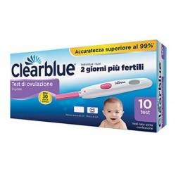 Clearblue test d'ovulazione digitale per concepimento - 10 pezzi