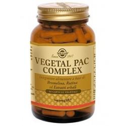 Solgar Vegetal Pac Complex - Integratore per il benessere delle gambe 60 capsule