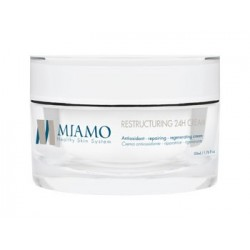Miamo Longevity Plus Restructuring 24h Cream - Crema Viso Anti Età 50ml