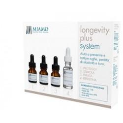 Miamo Minikit Longevity Plus System - Minikit Completo 1 Mese e Mezzo di Trattamento Antirughe