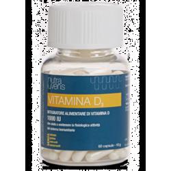 Miamo NutraIuvens Vitamina D3 (1000 UI) - Integratore Alimentare di Vitamina D3 60 compresse