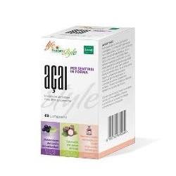 Fructan Acai integratore per il controllo dell'appetito 60 compresse