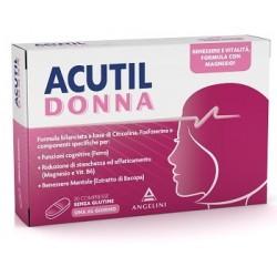 Acutil Donna - Integratore Alimentare per il Benessere Mentale della Donna 20 compresse