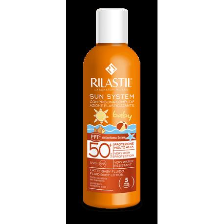 Rilastil Sun System Baby Latte Fluido Protezione Solare SPF 50+ - 200 ml