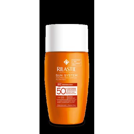 Rilastil Sun System Baby Fluido Comfort Protezione Solare SPF 50+ - 50 ml