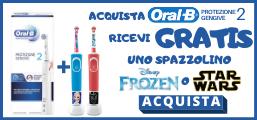 Oral B spazzolino elettrico omaggio