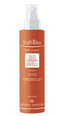 EuPhidra Olio spray solare protettivo per capelli SPF6 150 ml