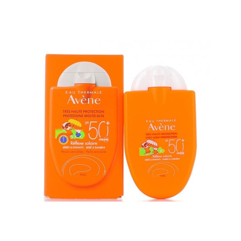 Avène Réflexe Solaire - Crema solare per bambino protezione molto alta spf50+ 30 ml