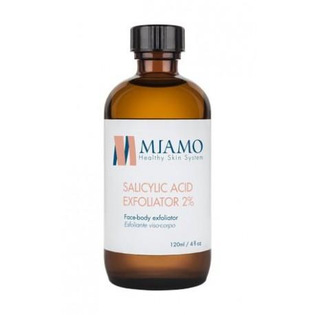 Miamo Total Care Salicylic Acid Exfoliator 2% - Esfoliante per Viso e Corpo 120m