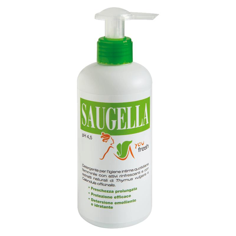 Saugella YouFresh - Detergente Intimo Rinfrescante 200 ml