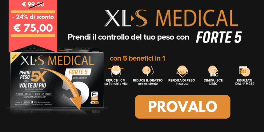 Perdi peso con XLS Medical Forte 5!