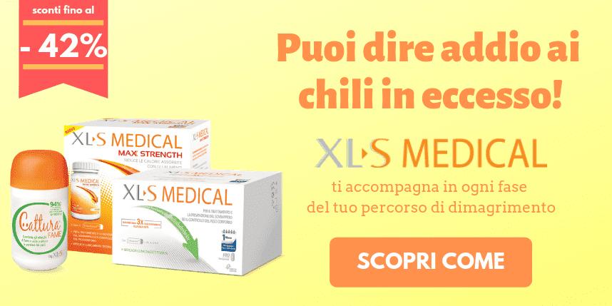 Elimina i chili di troppo con XLS Medical!