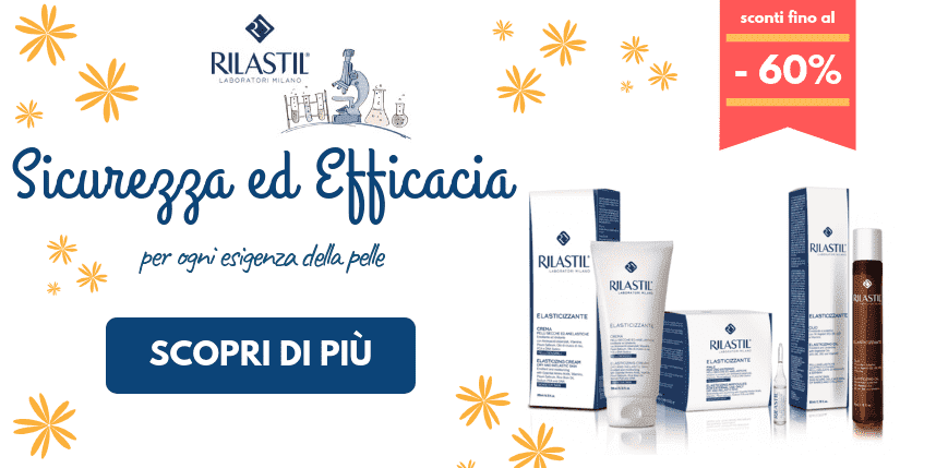 Prenditi cura della tua pelle con Rilastil ad un prezzo speciale!