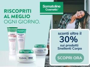 30% di sconto su i prodotti Somatoline Cosmetic