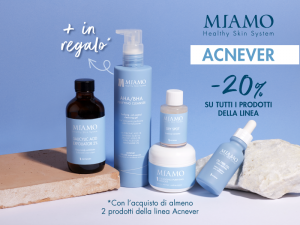Ricevi in omaggio il detergente Miamo AHA BHA Purifying Cleanser