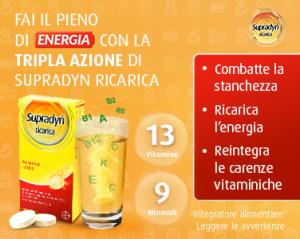 Extra sconto di 2€ su tutti i prodotti della linea Supradyn