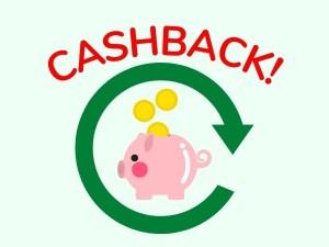 È attivo il cashback: acquista online e risparmi!